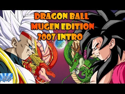 DRAGON BALL MUGEN EDITION 2007 INTRO (GAME DOWNLOAD LINK IN DISCRIPTION )