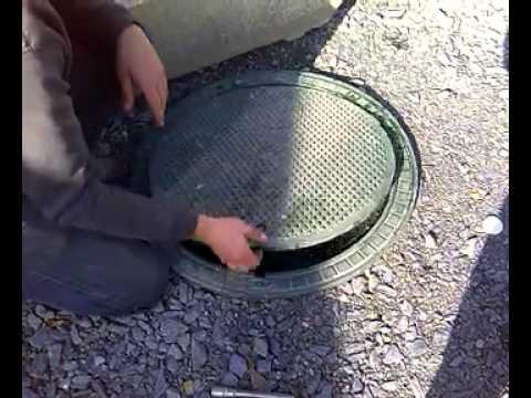 Test fumigène sur étanchéité de couvercle de Micro station