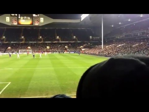 WE'RE THE PARK LANE. WE'RE THE SHELF SIDE   Tottenham vs Fiorentina (25.02.16)   HD