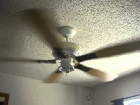 2006 Baseball Bat Ceiling Fan Youtube