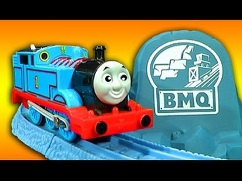 Thomas The Tank Risky Rails Bridge Drop Cranky Crane Train Wreck