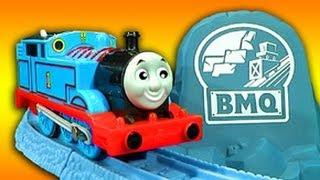 Thomas The Tank Risky Rails Bridge Drop & Cranky Crane Train Wreck thumbnail