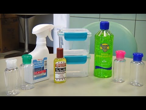How to Make Hand Sanitizer At Home!