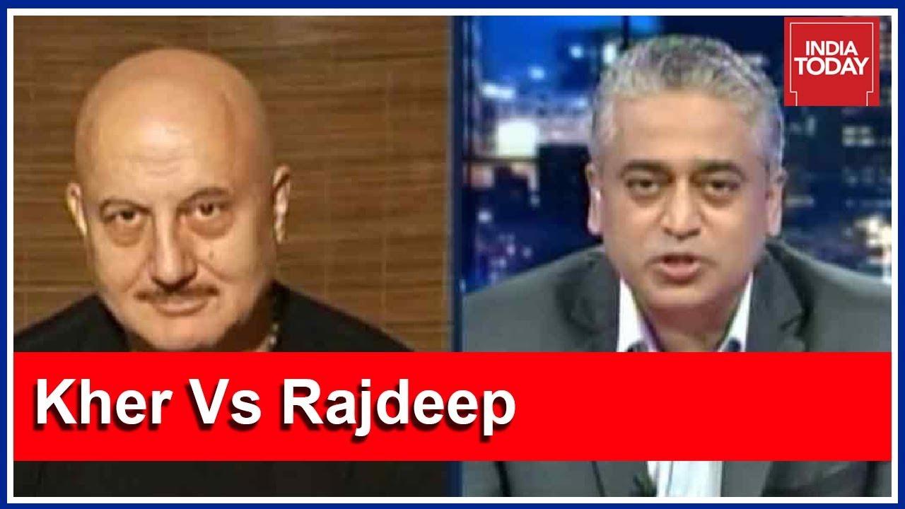 Naseeruddin Shah, Anupam Kher On Rising Intolerance In India (Part 1)
