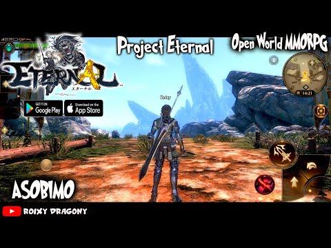 Asobimo - Akhirnya Bisa cobain !!! Eternal (CBT) Android Open World MMORpg - 동영상