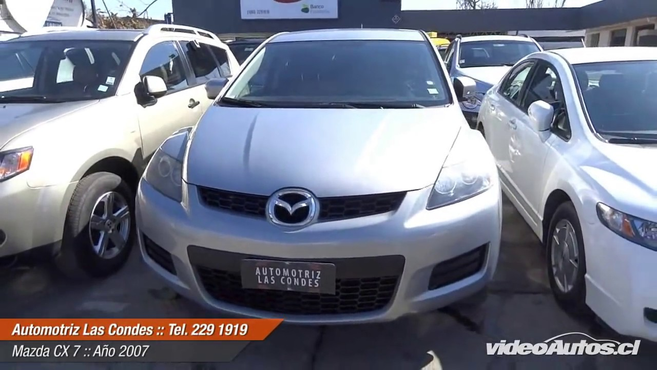 VideoAutos.cl :: Autos Usados con Video :: MAZDA CX7 - YouTube