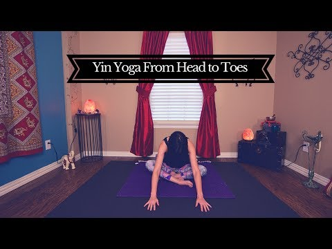 Full Body Yin Yoga from Head to Toes an All Levels Class : Yoga with Melissa 387