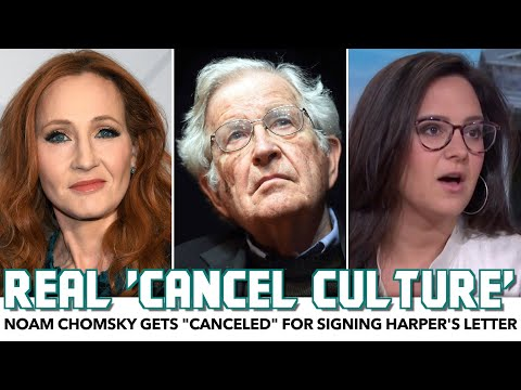 """Noam Chomsky Gets """"Canceled"""" For Signing Letter Alongside Hypocrites"""