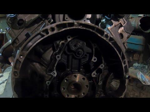Мотор М112-подготовка к установке на Mercedes W210, видео на 5 минут