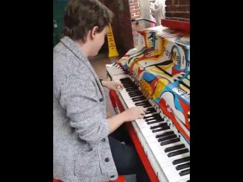 Playing On A Boston Street Piano!