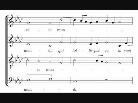 Agnus Dei - Byrd, Mass for 4 Voices