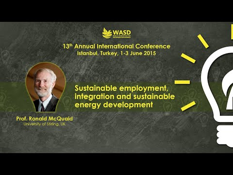 Sustainable employment, integration and sustainable energy development