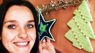 видео Новогодние елочные гирлянды своими руками на Новый 2017 год