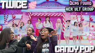 Gambar cover MV Reaction| TWICE - Candy Pop