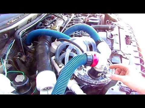 100% fuel vapor system