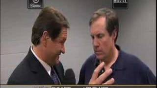 Bill Belichick cries like a girl