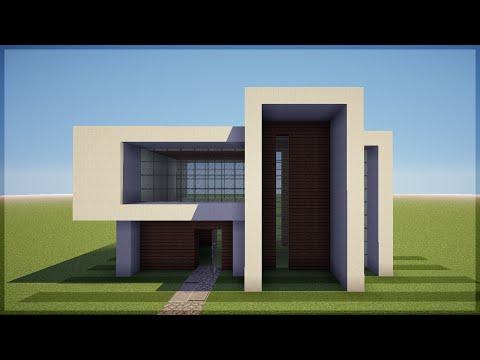 Minecraft Construindo Uma Pequena Casa Moderna 5 Doovi
