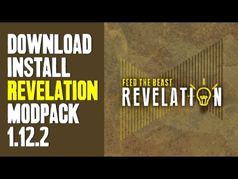 FTB REVELATION MODPACK 1 12 2 minecraft - how to download and install FTB  Revelation 1 12 2