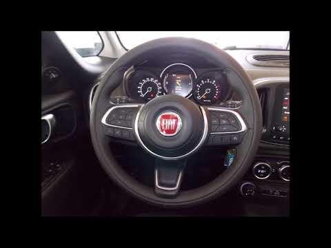 Fiat 500l Cross 1 4 Gelato Weiss Bicolore Schwarz Youtube