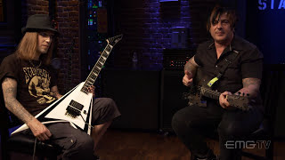 Alexi Laiho from Children of Bodom gives a Guitar Lesson on EMGtv!