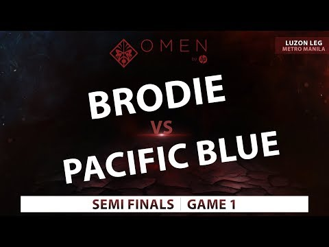 Brodie vs Pacific Blue | Game 1 | Omen by Hp Esports Tour Metro Manila