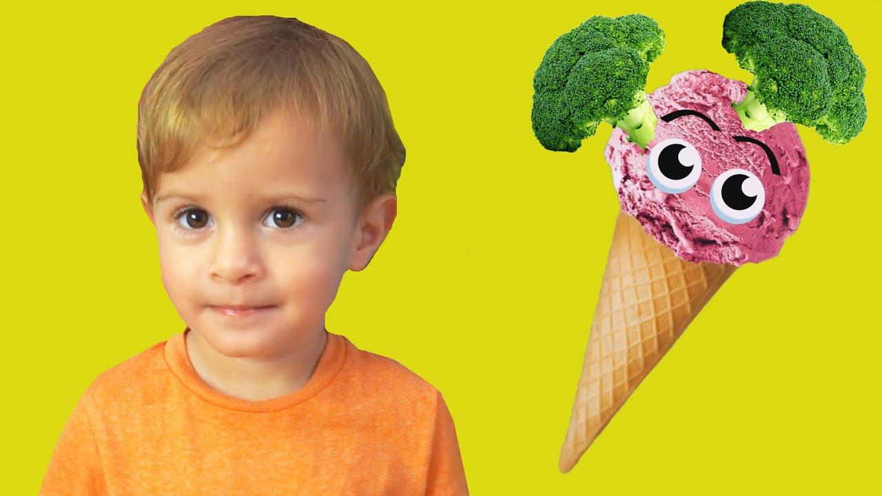¿Te Gusta El Helado De Brócoli? | Canciones Infantiles | LETSGOMARTIN SPANISH