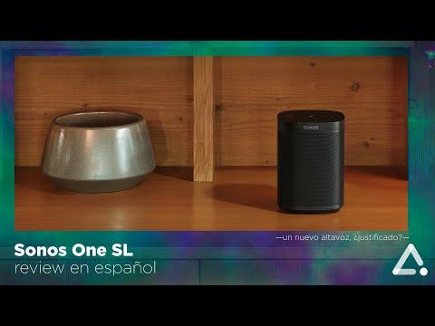 Sonos One SL, review - configuración - unboxing en español -un Sonos One DESCAFEINADO-