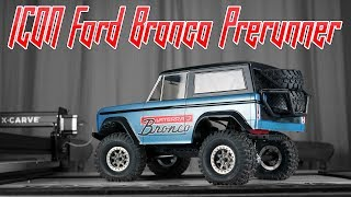 ICON BRONCO PRERUNNER  - Vaterra Ascender Custom Paint
