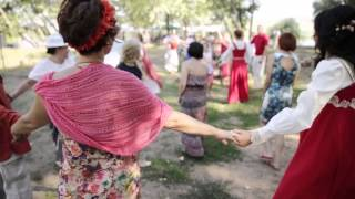 Свадьба в Русском народном стиле - видеосъемка в М...