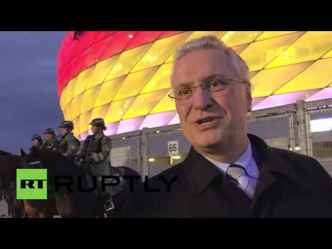 Germany: High security in Munich ahead of Germany-Italy frie