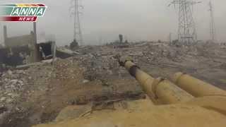 Сирия.Танки работают в аль Кабуне. Full  [filatov andrey]