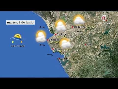 Pronóstico Del Tiempo Para El Martes Día 2 De Junio De 2020 En Sanlúcar