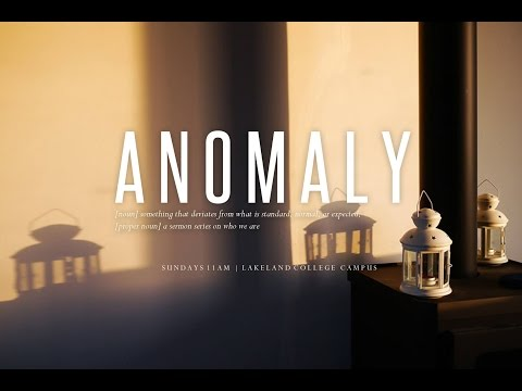 Anomaly Series - I Fit Because I'm Different