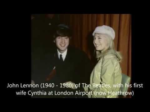 "John and Cynthia Lennon - ""Karena Kamu Cuma Satu (Because You are Only One)"" by Naif"