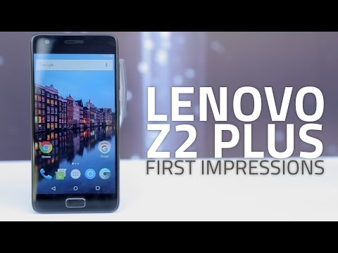 Lenovo Z2 Plus: First Look