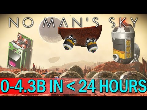ULTIMATE FARM 0-4.3 BILLION IN LESS THAN 24 HOURS IN NO MAN'S SKY
