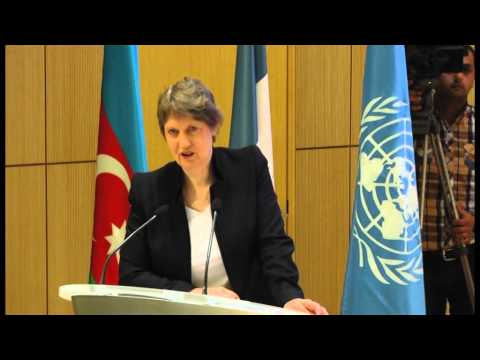 "Helen Clark, UNDP Administrator: ""From the MDGs to a new set of Global Development Priorities"""