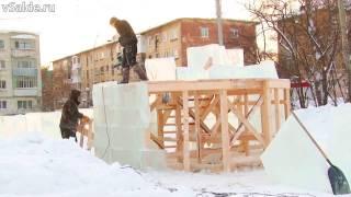 Снежный городок Верхней Салды. Две недели до Нового года
