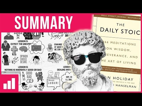 Stoiawesome - The Daily Stoic by Ryan Holiday ► Animated Book Summary