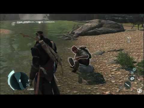 Assassin's Creed 3 Tutorial enciclopedia del hombre corriente (Trofeo Un hombre extraordinario)