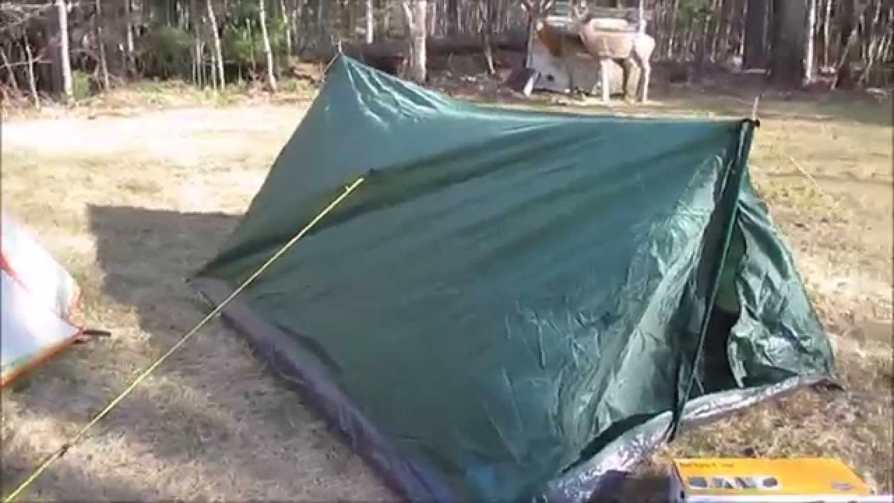Stansport Scout Backpack Tent & Stansport Scout Backpack Tent - YouTube