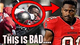 Antonio Brown Gets Into a HUGE Fight At Tampa Bay Buccaneers Tennessee Titans Joint Practice