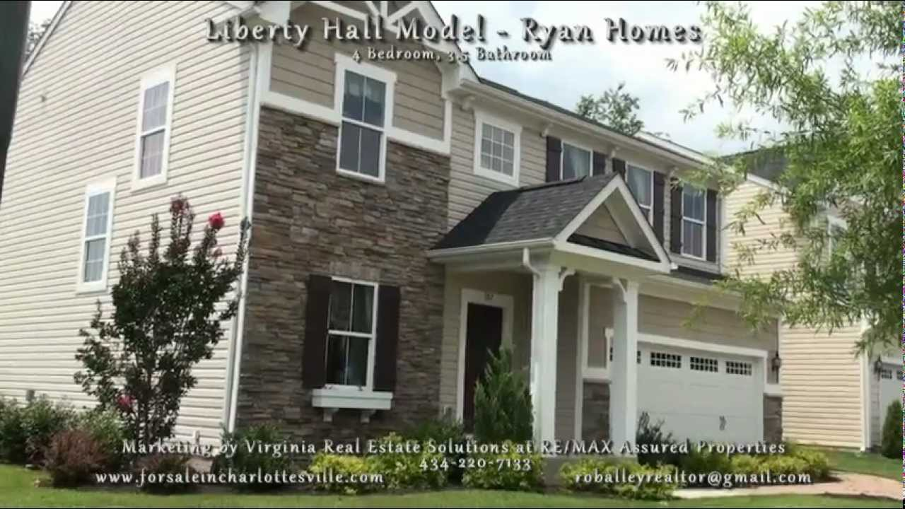 Ryan Homes Liberty Hall Model  The Venice  in Crozet   YouTube