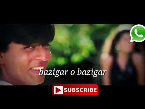 Baazigar O Baazigar-HD VIDEO SONG   Shahrukh Khan; Kajol   Baazigar   Superhit Hindi Love Song -