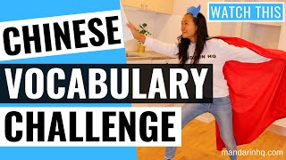 Can You Pass The Chinese Vocabulary Test? 【Take The Vocab Challenge!】⚡️