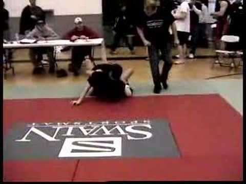 James Gray in Great Lakes BJJ Tournament