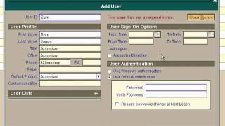 Orion Training Series: MA003 - How to set Passwords