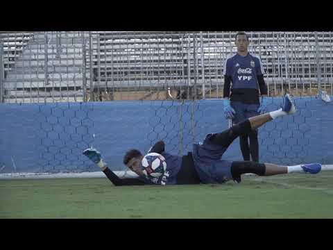 #SelecciónMayor Continúan los trabajos de cara al amistoso con Chile