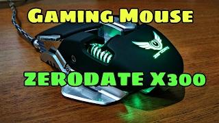 Обзор на крутую игровую мышку   gaming mouse   zerodate x300