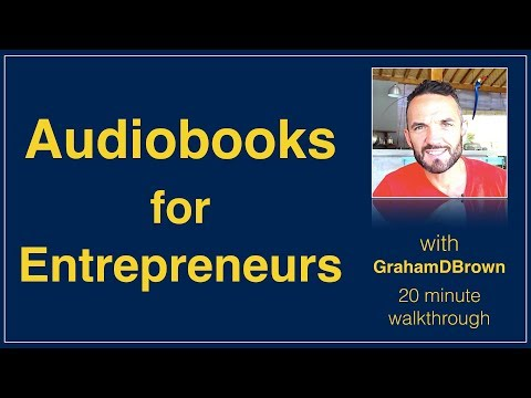Audiobooks for Entrepreneurs | How to be a Successful Lifestyle Entrepreneur | www.GrahamDBrown.com